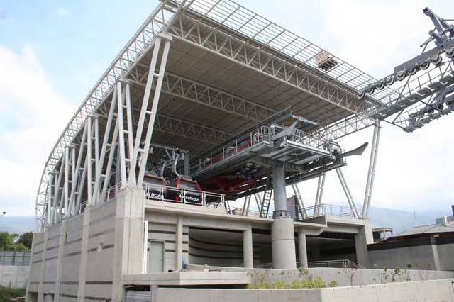 Built by Odebrecht Venezuela, MetroCable Mariche brings more integration